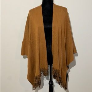 Iman burnt orange wrap scarf one size fits most